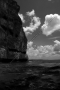 Below Two Lover's Point BW - Guam